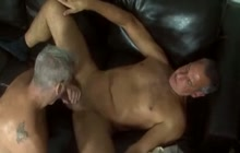 Jay Taylor with an older guy