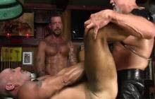 Ray Dawson and Travis Woods banging Scott Pierson