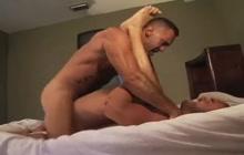 Lito Cruz and Jesse Balboa in bareback sex