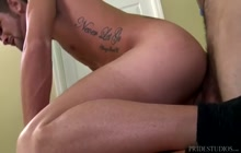 Kayden Smith fucked by a boss Tommy Defendi