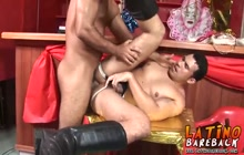 Horny Latino lovers fucking
