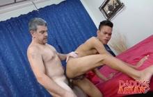 Asian twink taker raw white cock