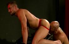 Gay hunks fucking bareback