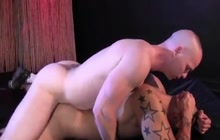 Owen Hawk and Jay Hernandez bareback fuck